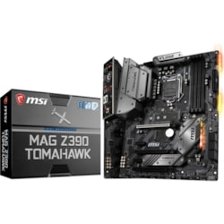 MSI MAG Z390 TOMAHAWK Desktop Motherboard - Intel Chipset - Socket H4 LGA-1151