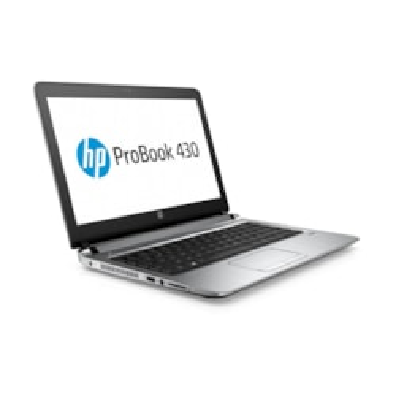 "HP ProBook 430 G3 33.8 cm (13.3"") LCD Notebook - Intel Core i5 (6th Gen) i5-6200U Dual-core (2 Core) 2.30 GHz - 8 GB DDR3L SDRAM - 256 GB SSD - Windows 7 Professional 64-bit upgradable to Windows 10 Pro - 1366 x 768"