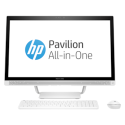 """HP Pavilion 27-a200 27-a276a All-in-One Computer - Intel Core i7 (7th Gen) i7-7700T 2.90 GHz - 16 GB DDR4 SDRAM - 2 TB HDD - 68.6 cm (27"""") 1920 x 1080 - Windows 10 Home 64-bit - Desktop"""