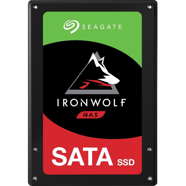 "Seagate IronWolf 110 ZA3840NM10011 3.84 TB Solid State Drive - 2.5"" Internal - SATA (SATA/600)"