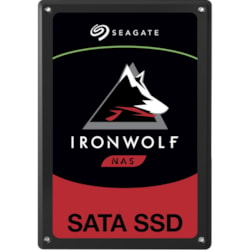 "Seagate IronWolf 110 ZA480NM10011 480 GB Solid State Drive - SATA (SATA/600) - 2.5"" Drive - Internal"