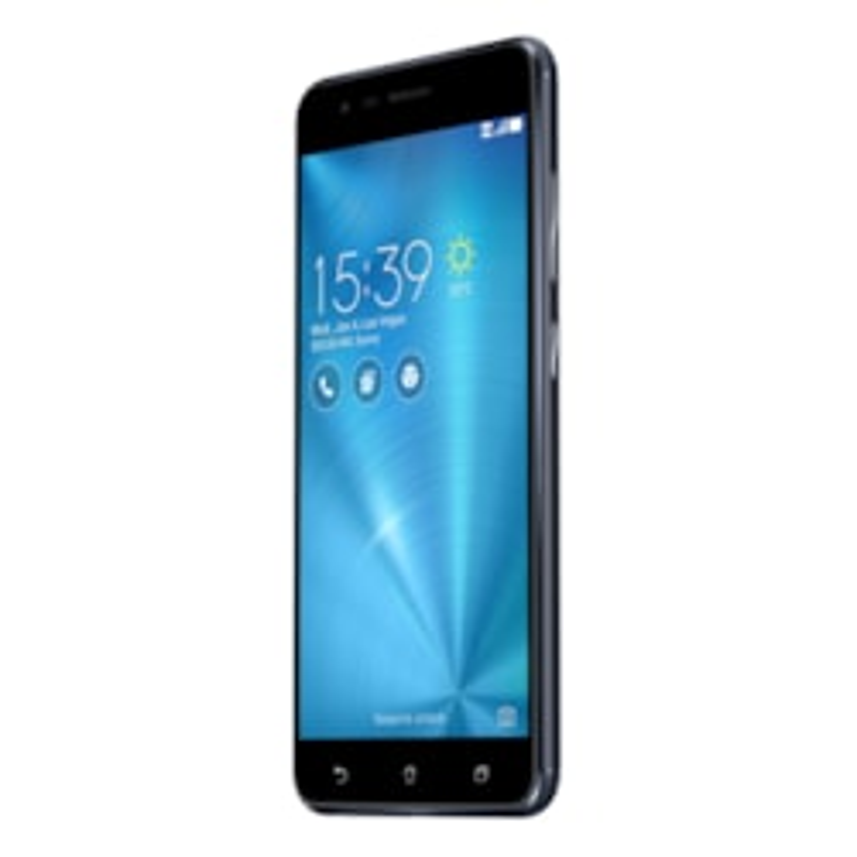 "Asus ZenFone 3 Zoom ZE553KL 32 GB Smartphone - 5.5"" AMOLED Full HD 1920 x 1080 - 3 GB RAM - Android 6.0.1 Marshmallow - 4G - Navy Black"