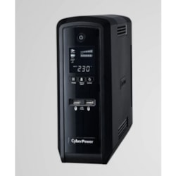 CyberPower PFC Sinewave Series 1500Va/900W (10A) Tower Ups With LCD And 6 X Au Outlets -(CP1500EPFCLCDa-AU)- 2 Years Adv. Replacement & Incl. Int. Batteries