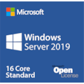Microsoft Windows Server 2019 Standard - License - 16 Core