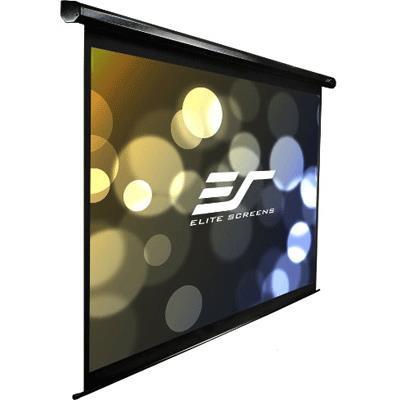 Elite Screens 130 Motorised 1610 Projector Screen Ir & RF Control White 12V Trigger & Switch Vmax2