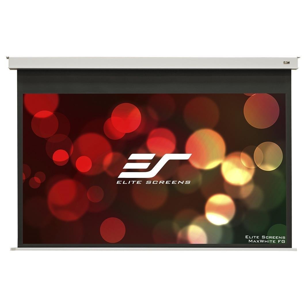 Elite Screens 110 Motorised 169 Recessed Screen Ir & RF Control White 12V Trigger Evanesce B