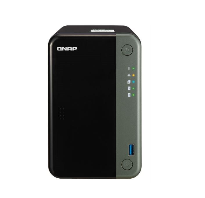 Qnap TS-253D-4G Nas Tower Quad Core 2.0GHZ Intel Celeron Cpu 2X Sata6 HDD Max 4GB DDR3 Ram