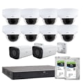 Uniview Unv Building Pack - 8 X 4MP Motorised Dome 2 X Motorised Bullet 16 CH NVR 2 X 4TB