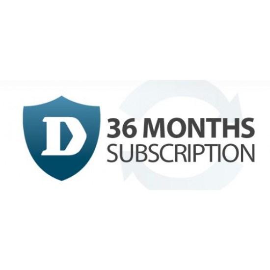 D-Link Hardware Licensing for DFL-860E NetDefend Network UTM Firewall, - Subscription Licence - 36 Month License Validation Period