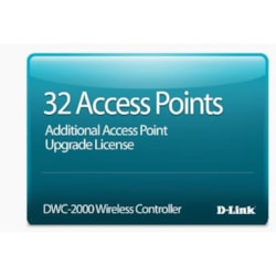 D-Link Hardware Licensing for D-Link DWC-2000 Wireless Controller - Upgrade Licence - 32 Managed Access Point