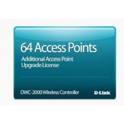 D-Link Hardware Licensing for D-Link DWC-2000 Wireless Controller - Licence - 64 Managed Access Point