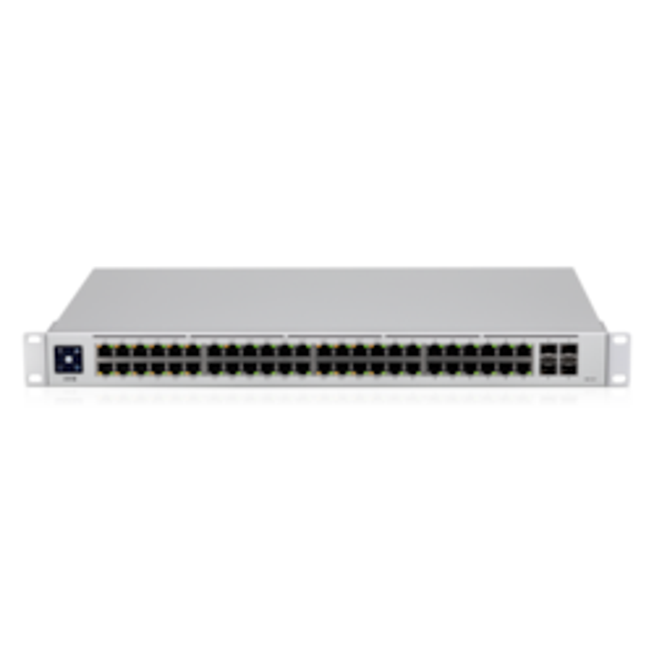 Ubiquiti ***New Ubiquiti UniFi 48 Port Managed Gigabit Layer2 & Layer3 Switch - 48X Gigabit Ethernet Ports W/ 32X 802.3At Poe+, 4X SFP Port Touch Display Gen2
