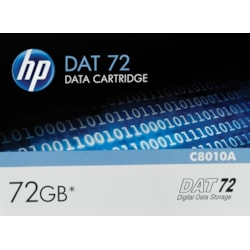 HP Data Cartridge DAT 72 - 1 Pack - Clearance
