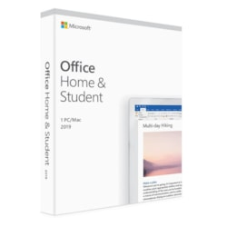 Microsoft Office 2019 Home & Student - Box Pack - 1 PC/Mac