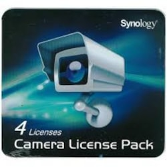 Synology Camera License (4 Surveillance Cameras)