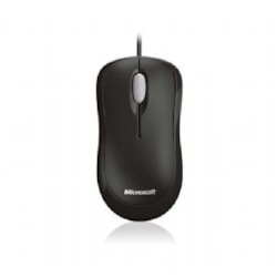 Microsoft MS Basic Optical Mouse Black Usb Oem Packaging 1PK (LS)