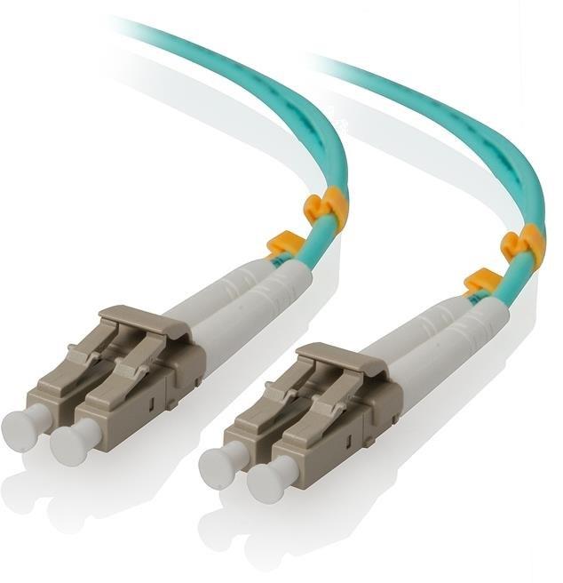 Alogic 1.5M LC-LC 40G/100G Multi Mode Duplex LSZH Fibre Cable 50/125 Om4