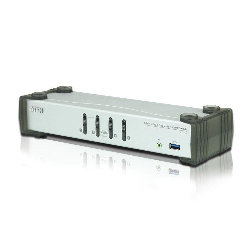 Aten CS1914 4 Port Usb 3.0 DisplayPort KVMP™ Switch