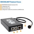 SRCOOLNET SNMP Webcard Interface Module - Remote Cooling Management for Use with SRCOOL12K or SRXCOOL12K