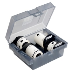 Brother 4 RollStarter Pack W/Storage Box,62MM, 24MM Rolls