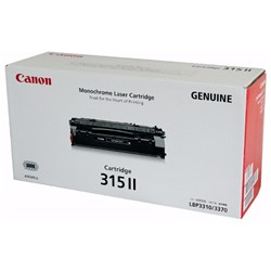 Canon CART315II Original Toner Cartridge - Black