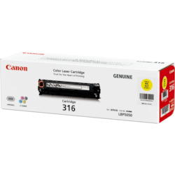 Canon CART316Y Original Toner Cartridge - Yellow