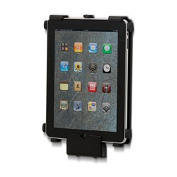 SpacePole SafeGuard Clamp Mount for iPad - Black