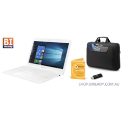 Asus E402 VivoBook Slim BACK-TO-SCHOOL BUNDLE - Laptop, Bag, USB Drive, AntiVirus