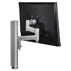 Atdec Awm Single Monitor Arm Solution - 460MM Articulating Arm - 400MM Post - F Clamp - White