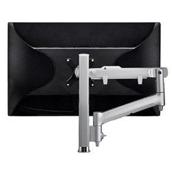 Atdec Awm Single Monitor Arm Solution - Dynamic Arm - 400MM Post - Grommet Clamp - Black