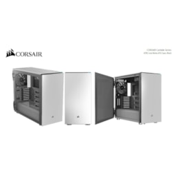 Corsair Carbide Series 678C Low Noise Tempered Glass Atx, E-Atx Case, White