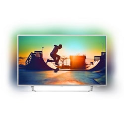 """Philips 7300 Series, 164 CM (65"""") 4K Ultra Slim TV, W/ Silver Bezel, Ambilight 3-Sided, Quad Core, Android, HDR, DVB-T/T2, 3 Year Onsite Warranty."""