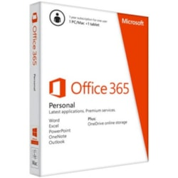 Microsoft Office 365 Personal 32/64-bit - Subscription Licence - 1 Year
