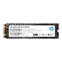 HP SSD S700 M.2 500GB, 3D TLC With HP Controller H6008 And 560/510 Max R/W - 3 Year Warranty