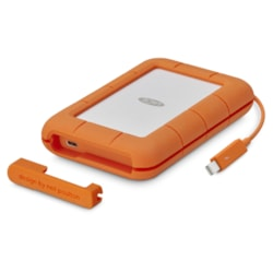 "LaCie Rugged Thunderbolt &Amp; Usb-C Portable Drive 2.5"" / 4TB / Thunderbolt &Amp; Usb-C / 3Yr Warranty + 3 Year Data Rescue Service Included!"