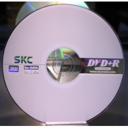 Leader Computer SKC 4.7GB 4X DVD+RW Media 10PK SKC Packaged 4.7Gb 4X DVD+RW