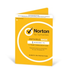 Norton Antivirus 2018 , 1 User, 1 Device, 12 Months, PC Only, Oem