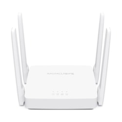 TP-Link Mercusys Ac10 Ac1200 Wireless Dual Band Router, 867 MBPS @ 5GHz 300 MBPS @ 2.5 GHz, WPS Button, 1xWAN 1xLAN 4 Fixed Omni-Directional Antenna