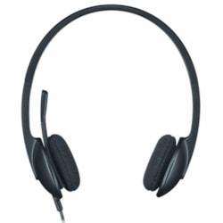 Logitech H340 Plug-and-Play Usb Headset With Noise Cancelling Microphone Comfort Design Fro Windows Mac Chrome 2YR wty-HONG Kong Virsion