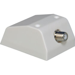 Digitek Single F Type Connector For Skirting Boards