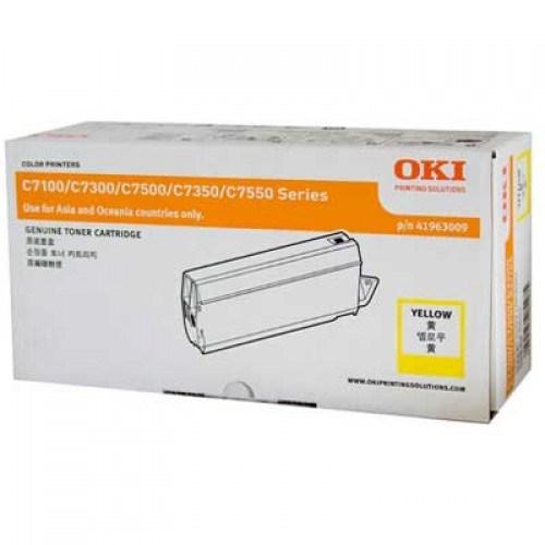 Oki Original Toner Cartridge - Yellow