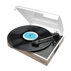 Mbeat® Wooden Style Usb Turntable Recorder