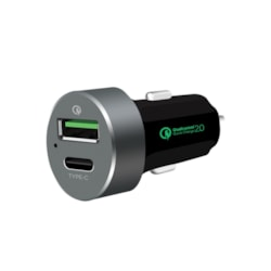 Mbeat® QuickBoost C Dual Port Qualcomm Certified Quick Charge 2.0 And Usb Type-C Car Charger