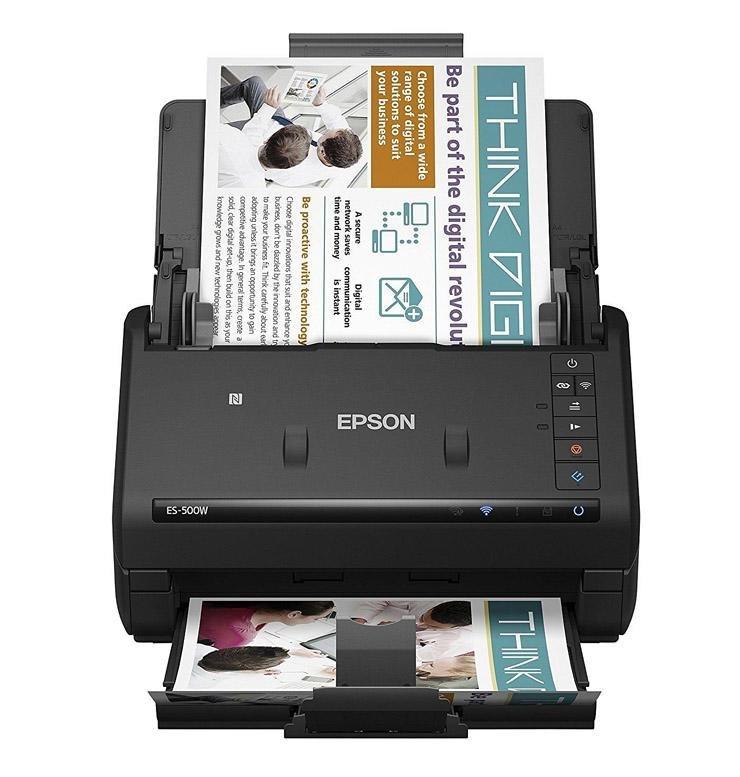Epson Workforce Es-500Wr Accounting Document Scanner