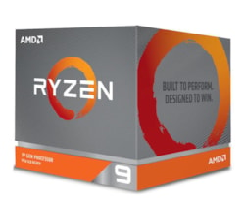 Amd Ryzen 9 3900X, 12 Core Am4 Cpu, 3.8GHz 4MB 105W w/Wraith Prism Cooler Fan