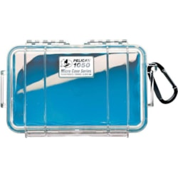 Pelican 1050 Micro Case - Clear With Blue