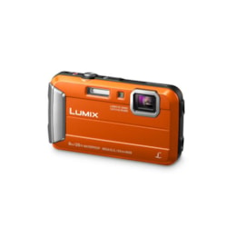 Panasonic Lumix FT30 16.1MP Orange Tough