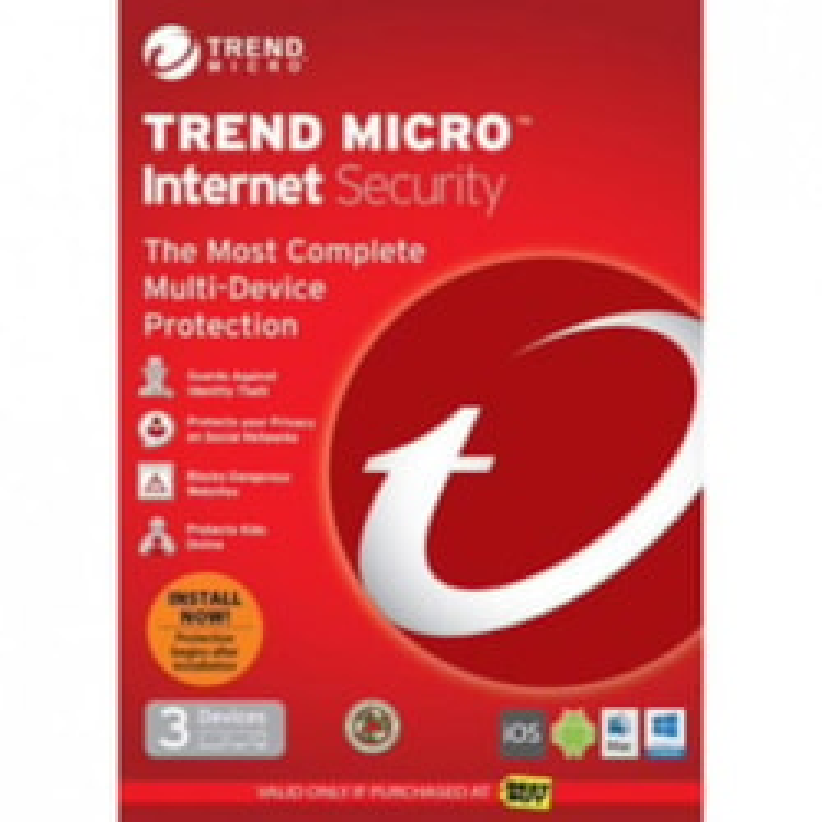 Trend Micro Trend Internet Security 2017 Oem 3U