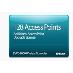 D-Link Hardware Licensing for D-Link DWC-2000 Wireless Controller - Upgrade Licence - 128 Managed Access Point