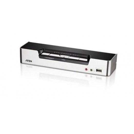 Aten 4 Port Usb 2.0 Hdmi KVMP Switch Support HDCP, Video DynaSync, Mouse Emulation, Keyboard Emulation